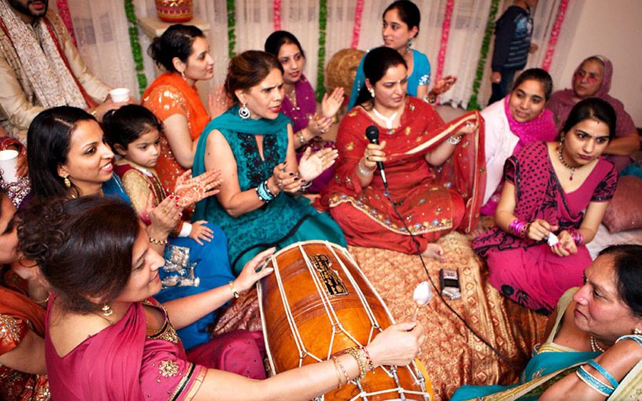 Sangeet & Mehndi Ceremony