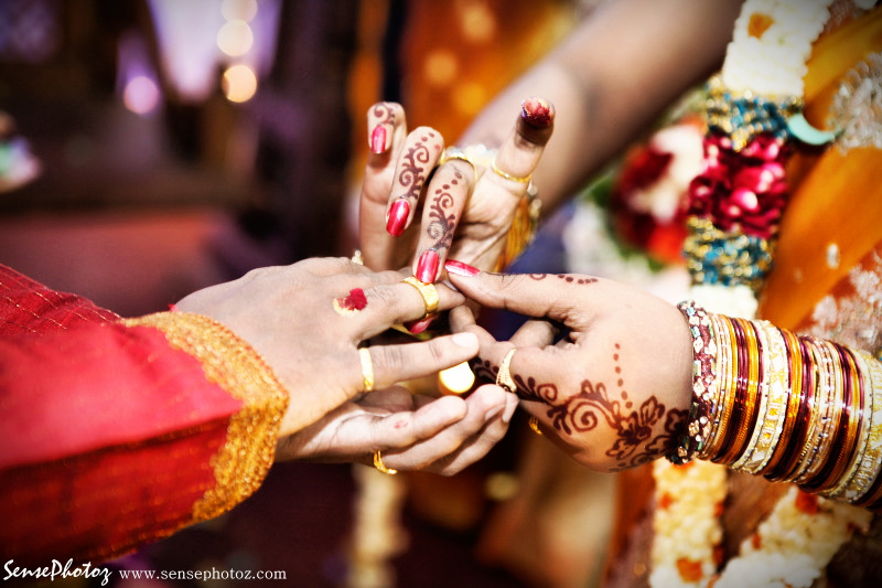 Indian Wedding Engagement Ceremony